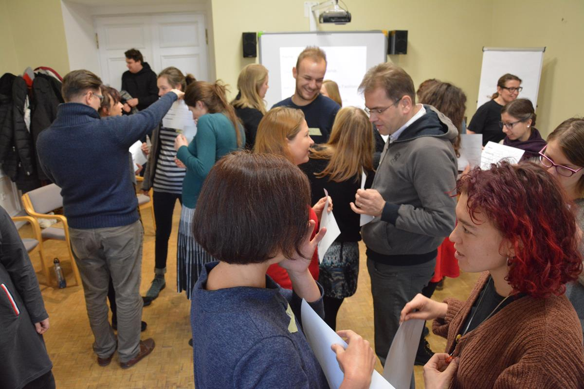 Programme conference of the employees of the Krzyżowa Foundation and Kreisau-Initiative e.V., 13-15.02.2019 Krzyżowa (gallery)
